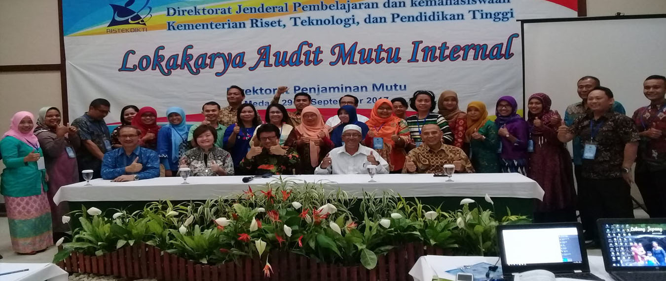 Audit Mutu Internal Bersama Kemenristekdikti di Medan